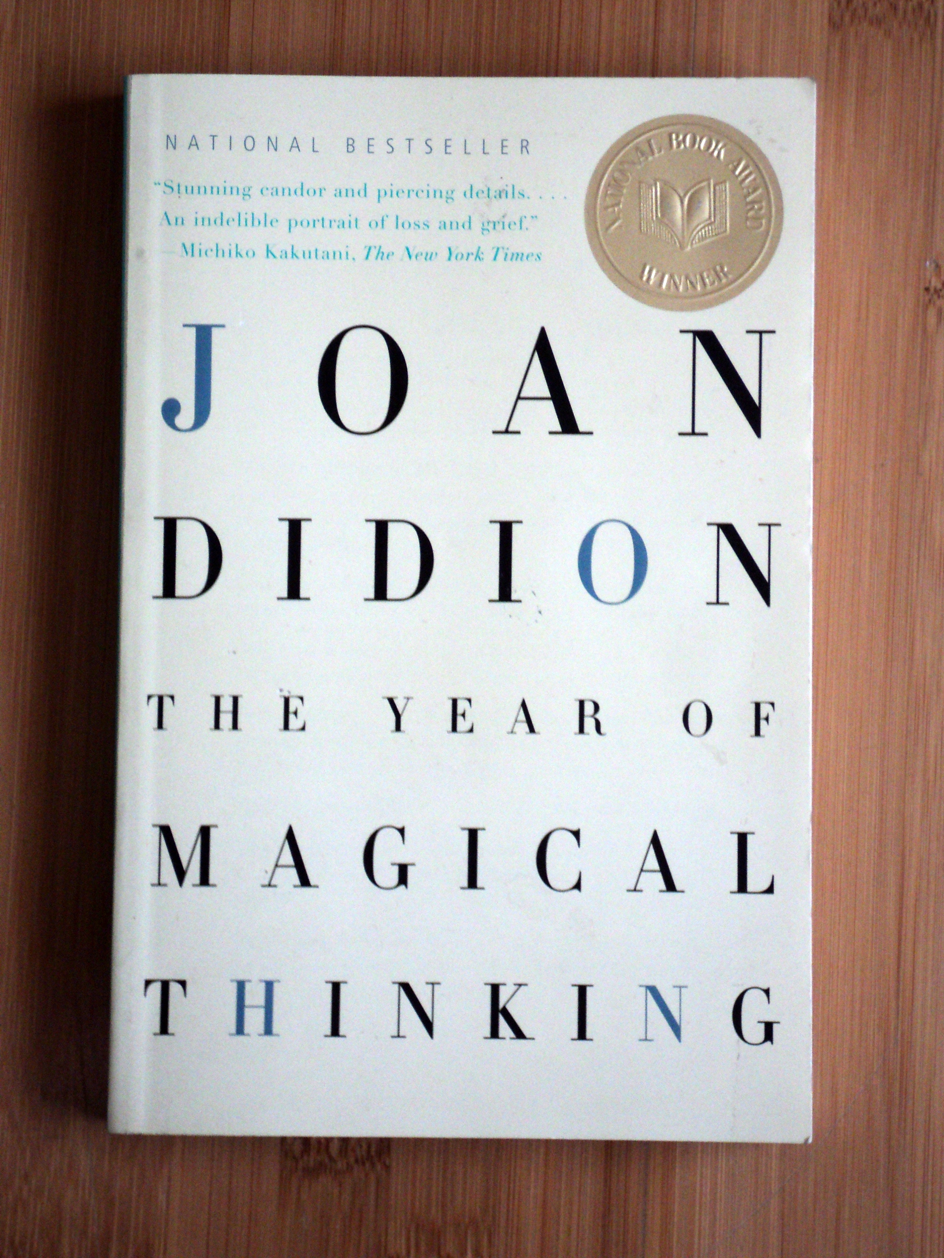 the year of magical thinking by joan Written by joan didion, audiobook narrated by barbara caruso spanning more than 200 years, an african american and latinx history of the united states is a revolutionary, politically charged narrative history arguing that the global south was crucial to the development of america as we know it.