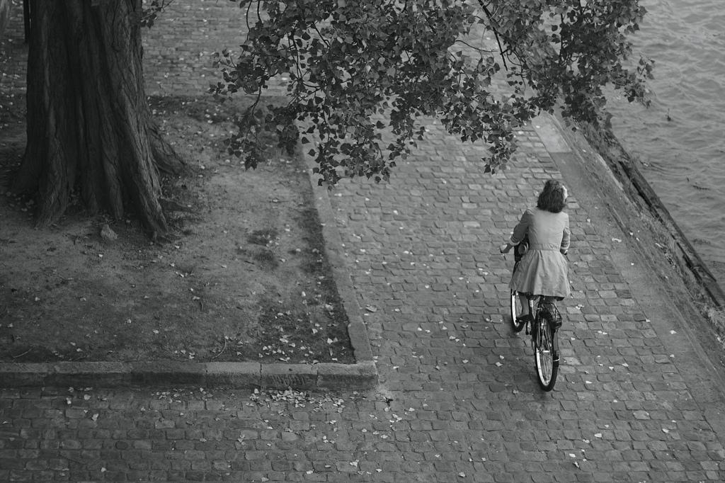 Vélo sur les quais